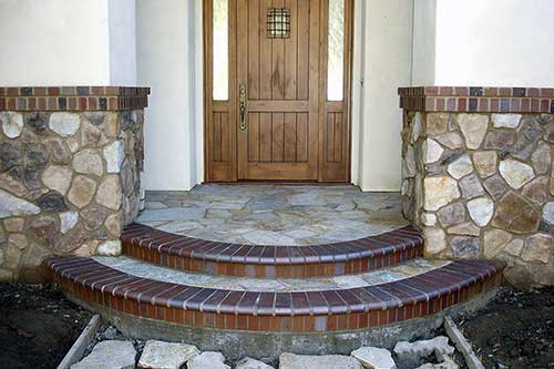 Decorative Entrance to Home