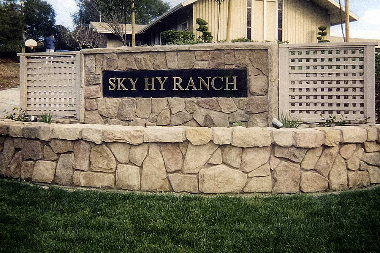 Sky Ranch Signage